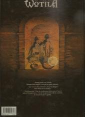 Verso de La saga de Wotila -1- Le Jour du prince Cornu