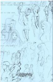 Verso de (AUT) Coipel - 99% sketchbook 2010