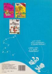 Verso de Boule et Bill -7e82- Album N° 7 des gags de Boule et Bill