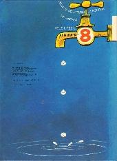 Verso de Gaston -7a1981- Un gaffeur sachant gaffer