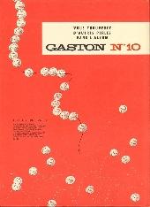 Verso de Gaston -9a81- Le cas Lagaffe