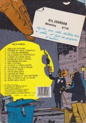 Verso de Gil Jourdan -2a1983- Popaïne et vieux tableaux