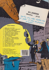 Verso de Gil Jourdan -3b83- La voiture immergée