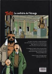 Verso de Théo -2- Le sang de la momie : La confrérie de l'étrange