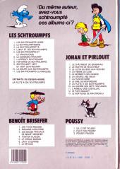 Verso de Les schtroumpfs -2b83- Le Schtroumpfissime (et schtroumpfonie en ut)