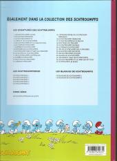 Verso de Les schtroumpfs -22b2009- Le schtroumpf reporter