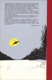 Verso de L'ange bleu