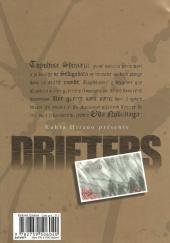 Verso de Drifters -1- Tome 1