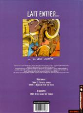 Verso de Lait entier -2- Requiem pour une vache