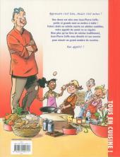 Verso de Jean-Pierre Coffe - Tous en cuisine ! -1- Les recettes inratables