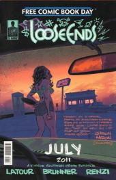 Verso de Free Comic Book Day 2011 - Ice / Loose Ends