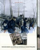 Verso de Notre Mère la Guerre -1a- Première complainte