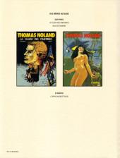 Verso de Thomas Noland -2- Race de chagrin