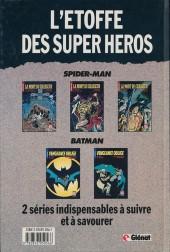 Verso de Super Héros (Collection Comics USA) -5- Spider-Man : La mort du Chasseur 1/3 - Le bourreau et le cercueil