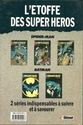Verso de Super Héros (Collection Comics USA) -6- Batman : Vengeance Oblige 1/2 - L'aube noire