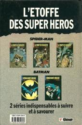 Verso de Super Héros (Collection Comics USA) -9- Spider-Man : La mort du Chasseur 3/3 : Tonnerre et amour