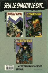 Verso de Super Héros (Collection Comics USA) -22- Shadow (1/3) : Puzzle fatal