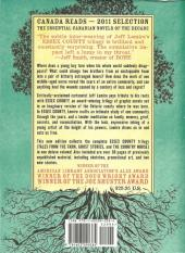 Verso de Essex County (2007) - The complete Essex County