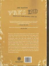 Verso de War's end - War's End