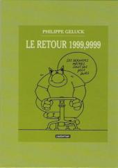 Verso de Le chat -07-08- Le Chat à Malibu / Le Retour 1999,9999