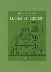 Verso de Le chat -09-10- L'Avenir du Chat / Le Chat est content