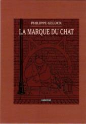 Verso de Le chat -13-14- Le Chat a encore frappé / La Marque du Chat