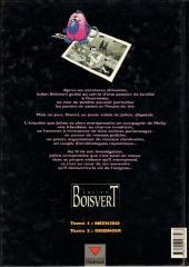 Verso de Julien Boisvert -2- Gris noir