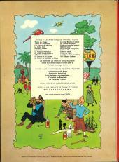 Verso de Tintin (Historique) -2B39- Tintin au Congo