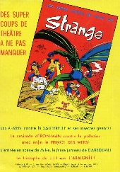 Verso de Strange -23- Strange 23