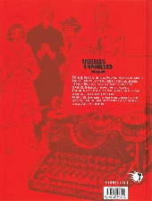 Verso de Vieilles canailles -INT- Intégrale
