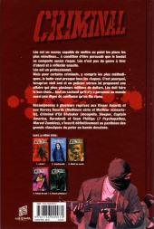 Verso de Criminal -1a10- Lâche !