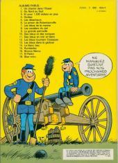Verso de Les tuniques Bleues -2c82- Du nord au sud