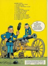 Verso de Les tuniques Bleues -11a1979- Des bleus en noir et blanc