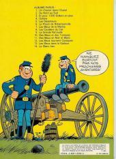 Verso de Les tuniques Bleues -12a1980- Les Bleus tournent cosaques