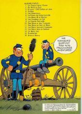 Verso de Les tuniques Bleues -13a1980- Les bleus dans la gadoue