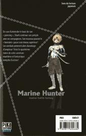 Verso de Marine Hunter -4- Vol. 4