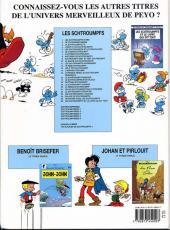 Verso de Les schtroumpfs -14b08- L'aéroschtroumpf