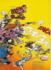 Verso de Sammy -6a1980- Les gorilles font les fous