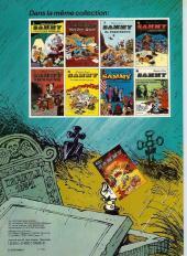 Verso de Sammy -10a1980- Nuit blanche pour les gorilles