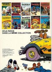 Verso de Sammy -11a1980- Deux histoires de gorilles