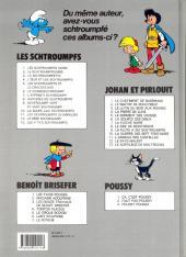 Verso de Les schtroumpfs -4b89- L'œuf et les schtroumpfs