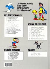 Verso de Les schtroumpfs -5b90- Les schtroumpfs et le cracoucass