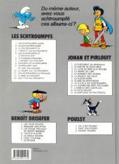 Verso de Les schtroumpfs -6b91- Le cosmoschtroumpf