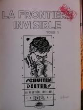 Verso de Les cités obscures -8TL1- La Frontière invisible - Tome 1