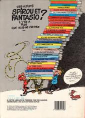 Verso de Spirou et Fantasio -4e83- Spirou et les héritiers