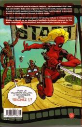 Verso de Deadpool Corps (100% Marvel) -0- Le Club des cinq