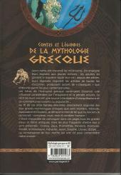 Verso de Contes et Légendes (chez Petit à Petit) - Contes et légendes de la mythologie grecque en bandes dessinées