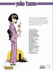 Verso de Yoko Tsuno (en allemand) -17- Die rache der dämonen
