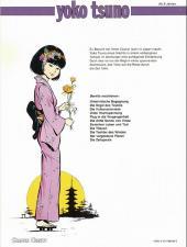 Verso de Yoko Tsuno (en allemand) -11- Die zeitspirale