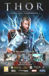 Verso de Marvel Classic (1re série) -2- Le pouvoir du Dieu du tonnerre!